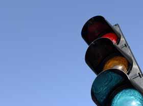 Feu tricolore feu de circulation