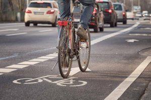 Vélo voitures flux séparés
